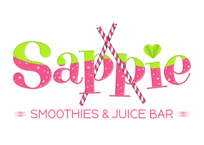 Sappie, smoothies & juice bar logo